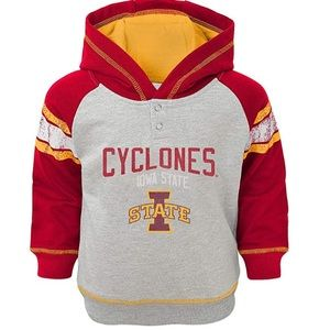 NCAA Shirts & Tops - Boys Iowa State Cyclones French Terry Hoodie NWT M
